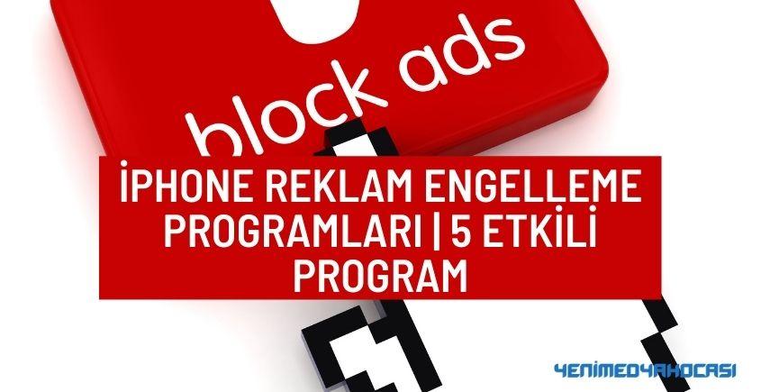 iPhone reklam engelleme programları