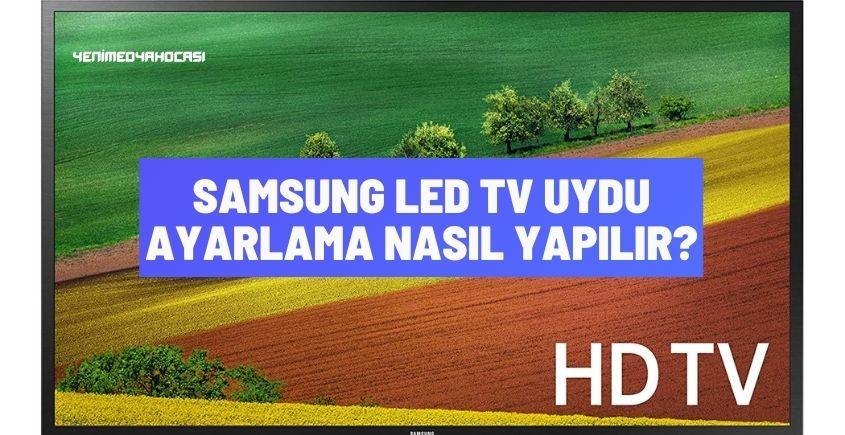 Samsung led tv uydu ayarlama