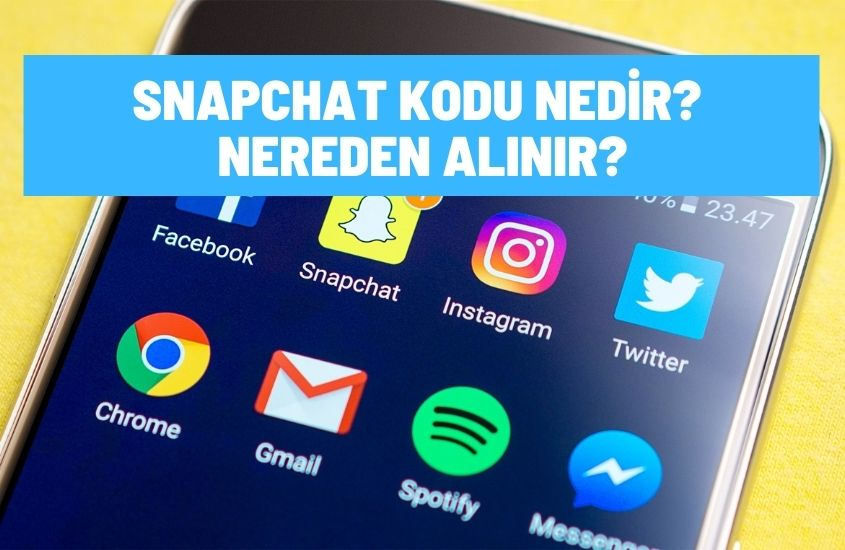 Snapchat kodu nedir